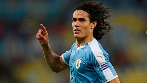 Cavani devrait être titulaire avec l'Uruguay