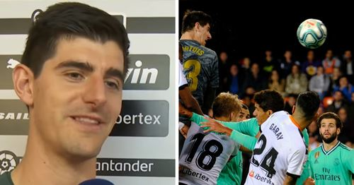 Opponents are scared of me - Courtois explains why he goes up for corners