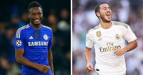 Ex-Chelsea midfielder John Obi Mikel: 'Hazard is the laziest player I've ever trained with'