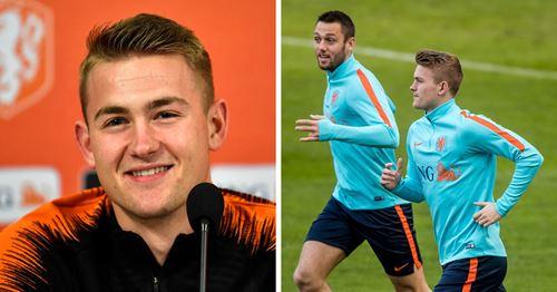 "De Ligt: ""Inter e Juve sono rivali, io e De Vrij no"""