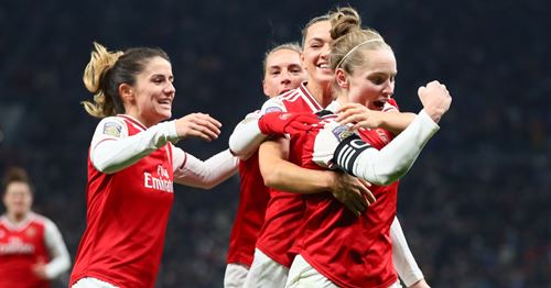 North London is red: Arsenal Ladies beat Spurs (video)