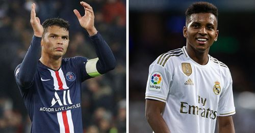 Thiago Silva heaps praise on Rodrygo: 'Hope Zidane benches him against PSG'