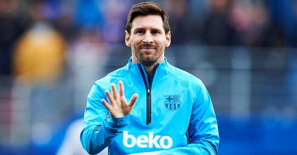 Messi nufuzli Laureus World Sporstman mukofotiga nomzod bo'ldi