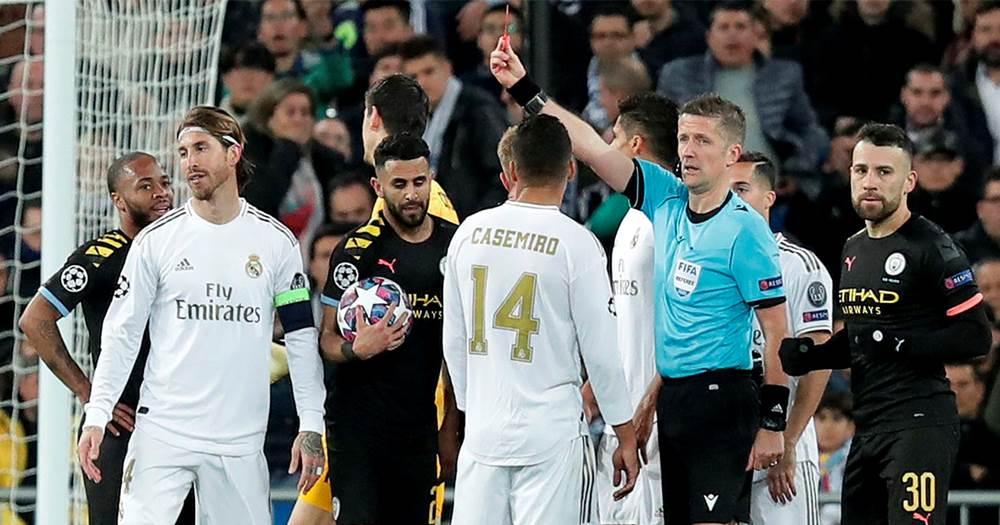 Реал Мадрид - Манчестер Сити, удаление Серхио Рамоса