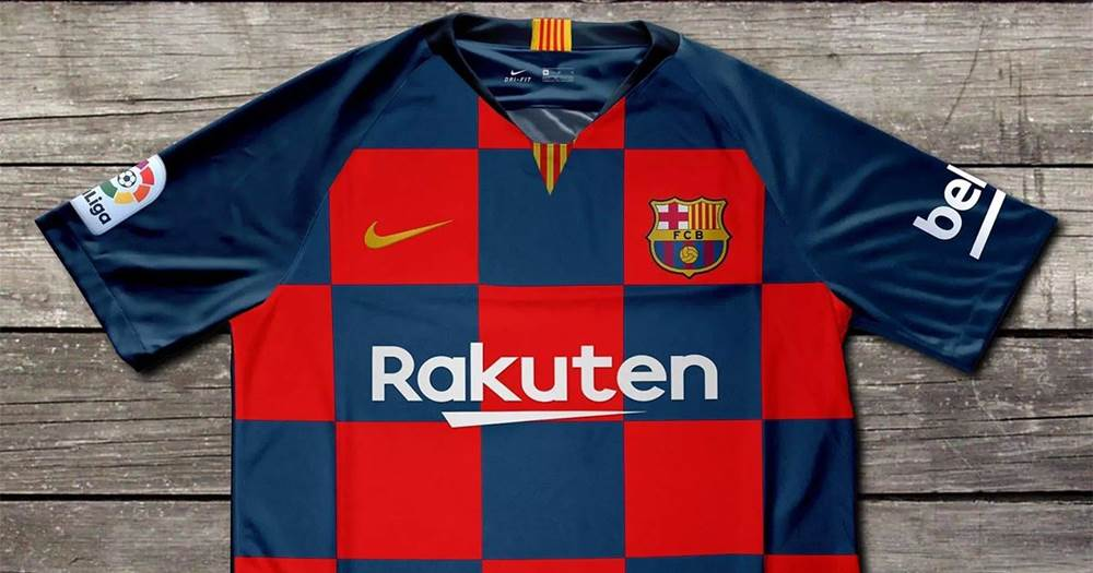 low priced e7ab6 9e2f0 Barcelona new home kit named among the worst jerseys for ...