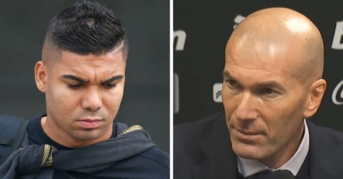 Zidane explains why Casemiro did not play against Valencia