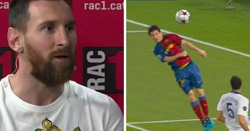 Messi reveals his best goal ever and it's a surprise