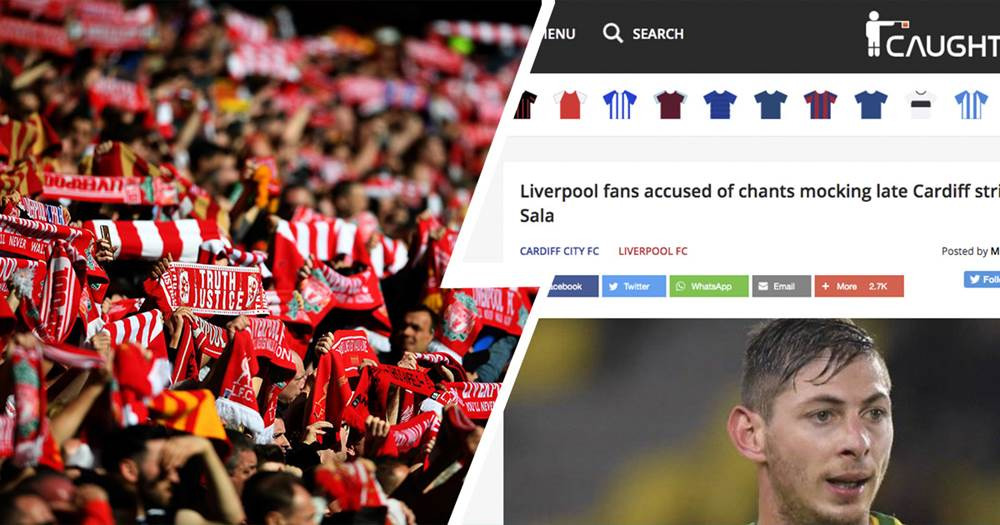 Caught Offside removes article accusing Reds fans of mocking Sala's