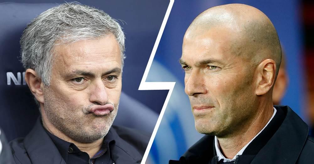 Bookies: Jose Mourinho huge favourite to replace Zinedine Zidane
