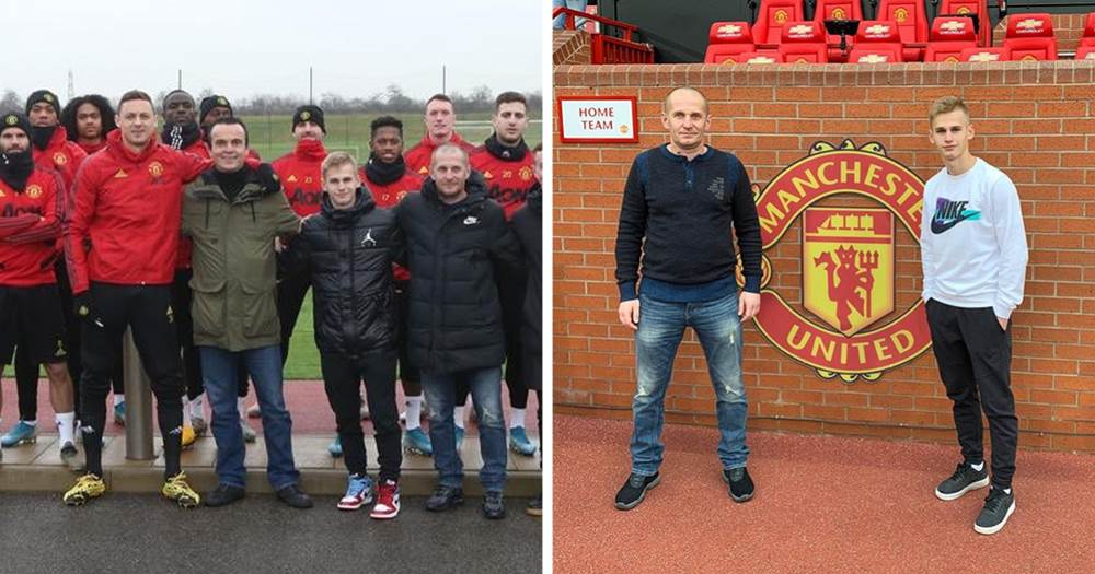 Russia's future hope Pinyaev handed another trial at Carrington – earlier he was dubbed 'brightest' United trialist ever