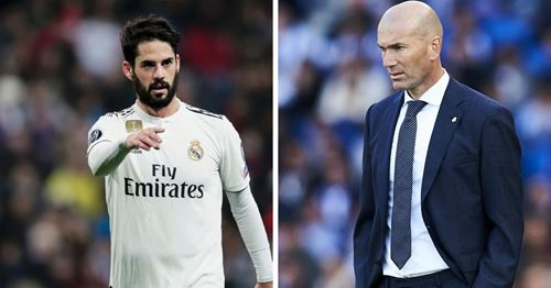 Zidane not giving up on Isco: player's situation explained in brief