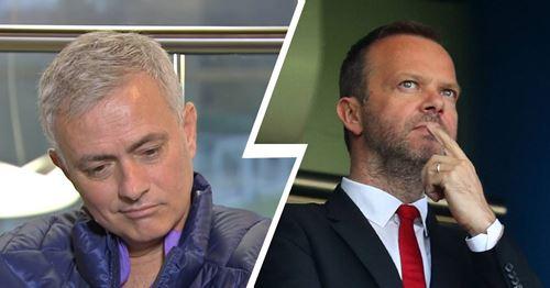 Mourinho reveals Woodward sent him a 'special' message about Tottenham job