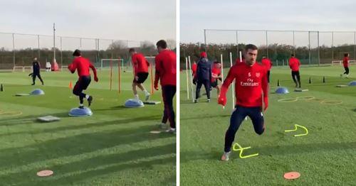 Arsenal start preparations for Southampton clash (video)