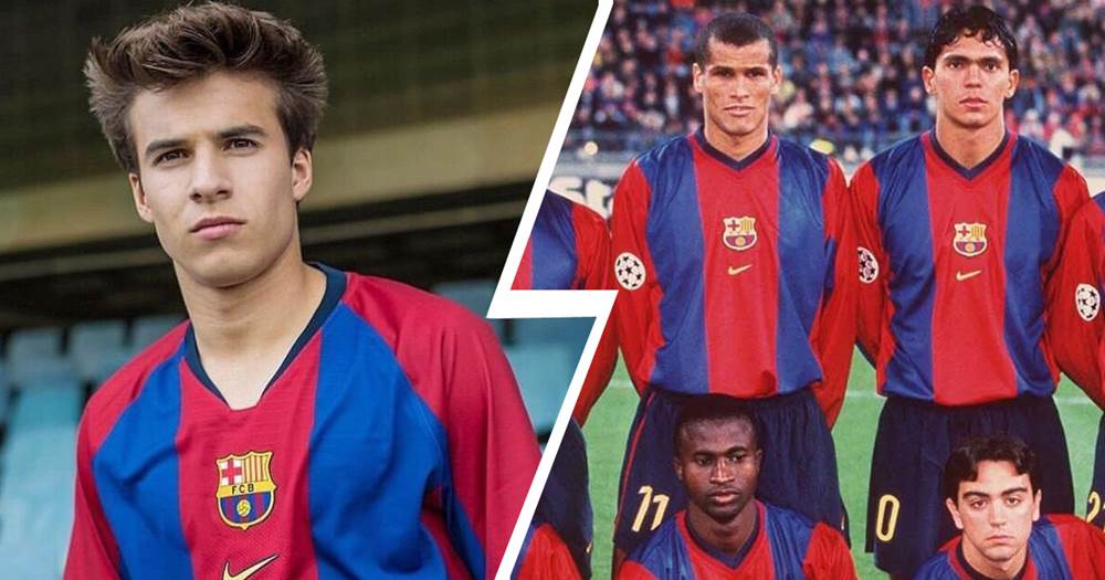 fd95b1bb9e3 Nike will release a limited remake edition of Barcelona shirt from 1998 99  season.