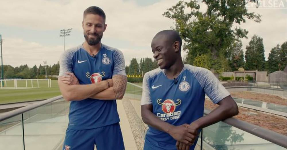 Image result for giroud kante 2019