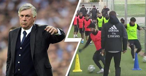 Real Madrid reintroduce training exercise used during Carlo Ancelotti-era