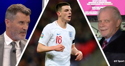 West Ham chief hits back at Roy Keane for criticism of United target Declan Rice