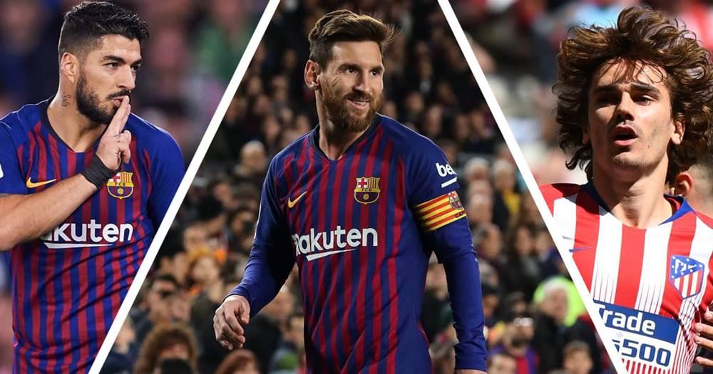 Trio Penyerang Barcelona