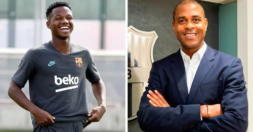 Patrick Kluivert praises Ansu Fati: 'Ansu has his head straight and his feet on the ground'