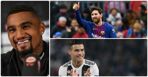 La réponse brillante de Boateng quand un journaliste lui demande qui est le meilleur entre Ronaldo et Messi