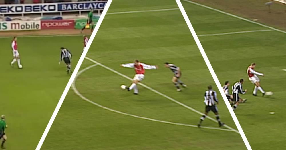 Dennis Bergkamp describes how he scored his wonderful pirouette goal vs Newcastle in every detail