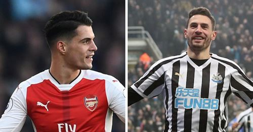 Newcastle could loan Xhaka in January, count on his Switzerland teammate