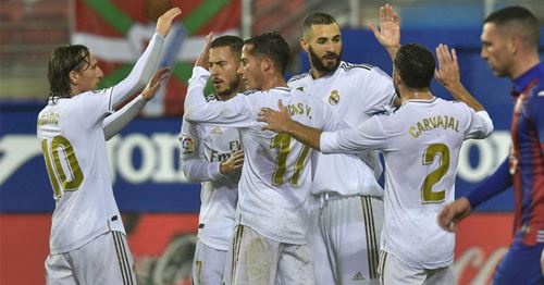 Los Blancos' show unbelievable improvement in goalscoring performance