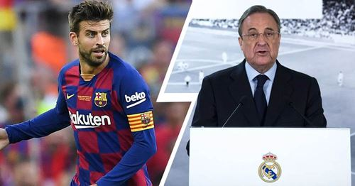 Pique reveals he had Florentino Perez's phone number: 'It was something personal'