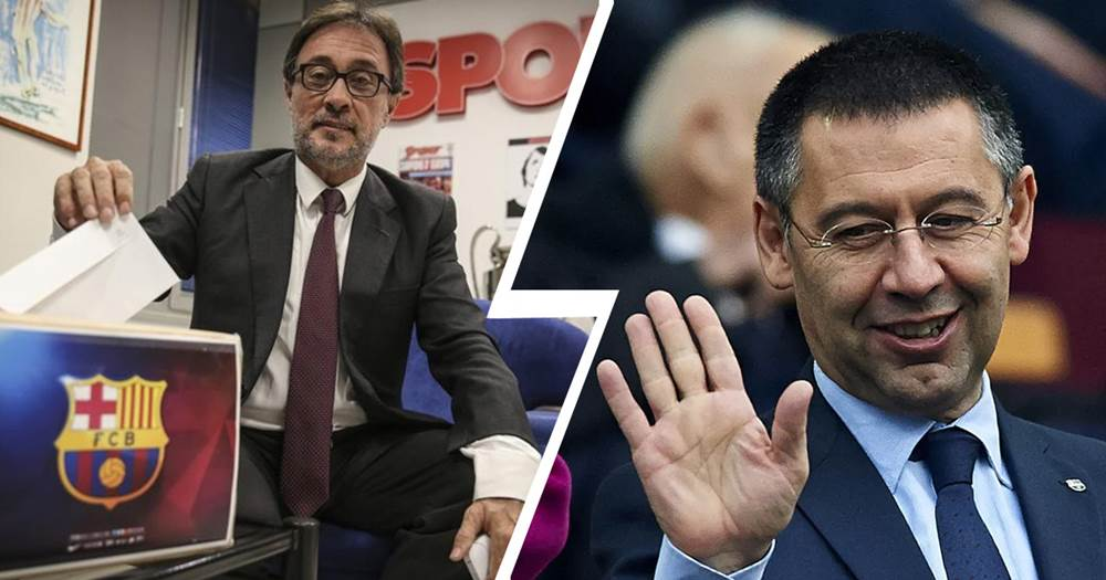Ex-presidential candidate to launch vote of no confidence against Bartomeu & board - logo