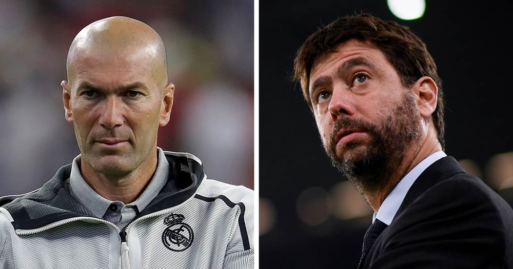 Juventus are reportedly lining up an offer for Zinedine Zidane amid exit  rumours - Tribuna.com
