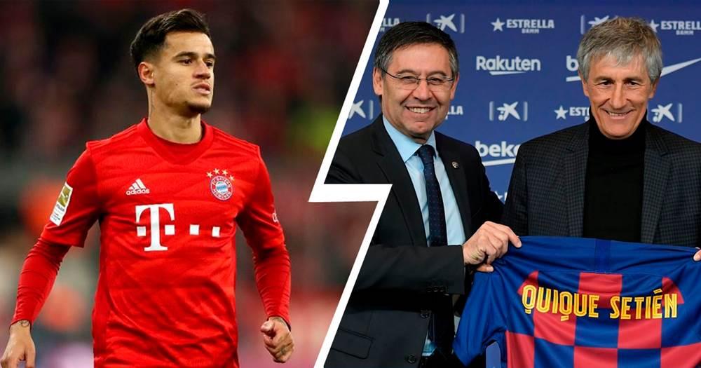 Cadena SER: Der neue Barca-Trainer könnte Coutinho zurückholen