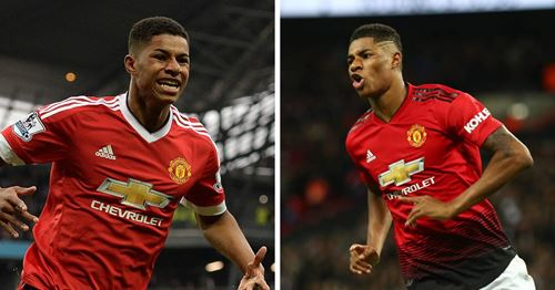 Rashford opens up on what it feels like to score at Old Trafford: 'It's always something special'