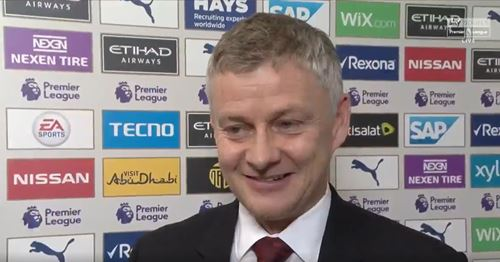 What's it like to beat Spurs and City in 5 days? Solskjaer's wit strikes again to simple question