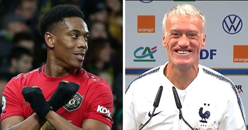 France boss Deschamps explains why he hasn't called Anthony Martial up and what next