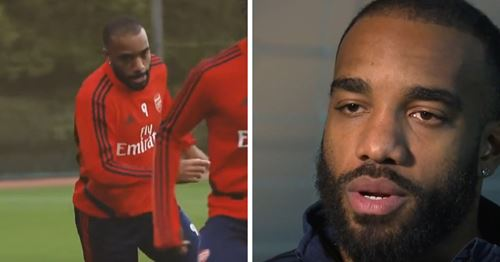 'We are only in November' - Lacazette talks about objectives for the season (video)