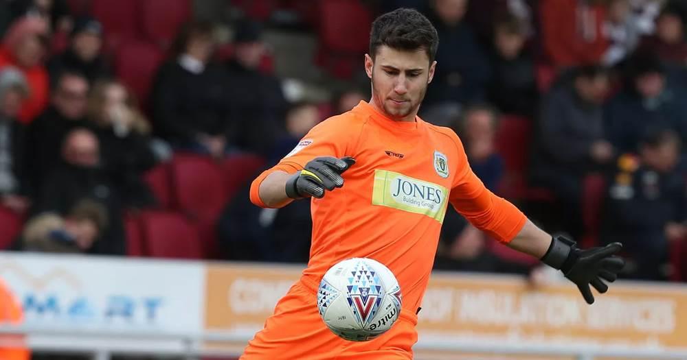 Academy goalkeeper Nathan Baxter talks about his dream emulating ...