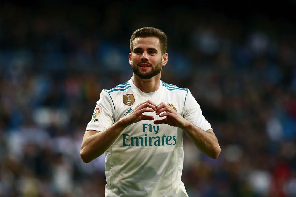 detailed look 54872 4544f Nacho Fernandez celebrated eight years at Real Madrid on ...