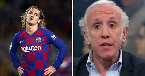 Pro-Madrid journalist Inda: 'Griezmann already wants to leave Barca'