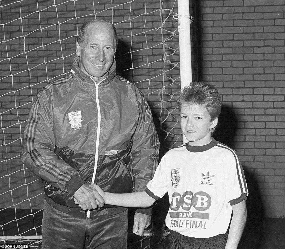 David Beckham reveals he owes everything to Sir Bobby Charlton