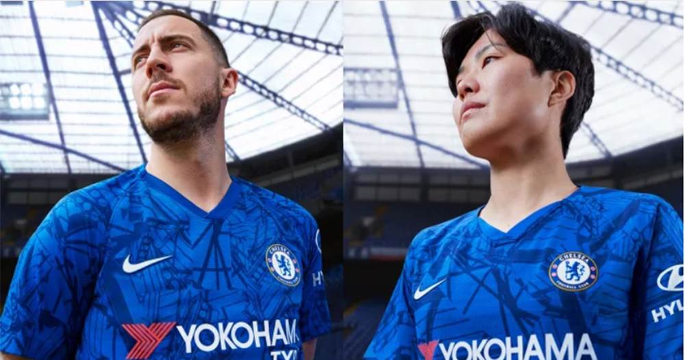 buy popular 02eed aedb9 OFFICIAL: Chelsea unveil Stamford Bridge-inspired home kit ...