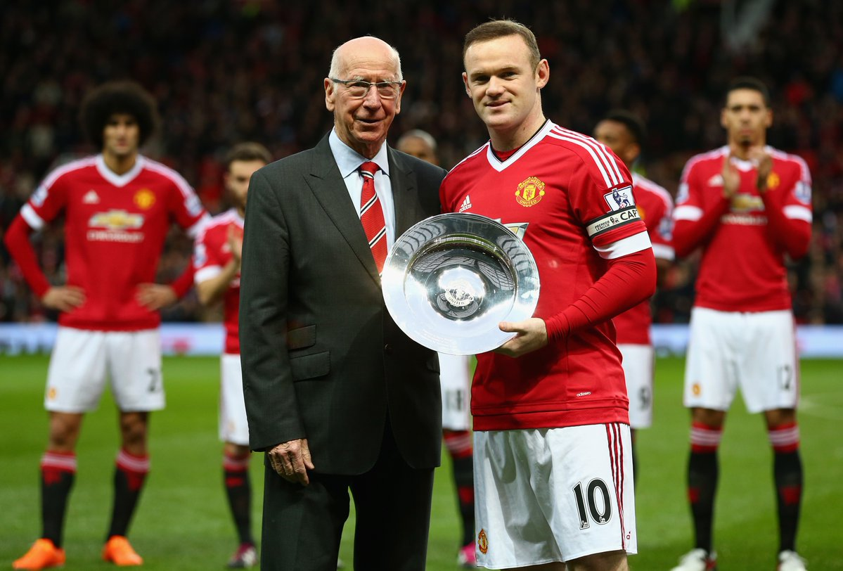 READ Wayne Rooney admits Sir Bobby Charlton holds one title he