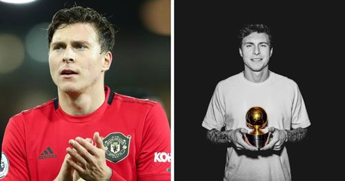 Lindelof wins Swedish Golden Ball award - again