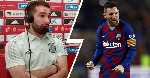 Real Madrid's Carvajal openly admits he wants Barca to have problems in La Liga and UCL