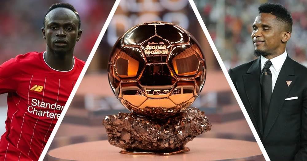 Image result for Footballer, Samuel Eto'o Blames Africans For Sadio Mane Losing The Ballon D'Or To Messi