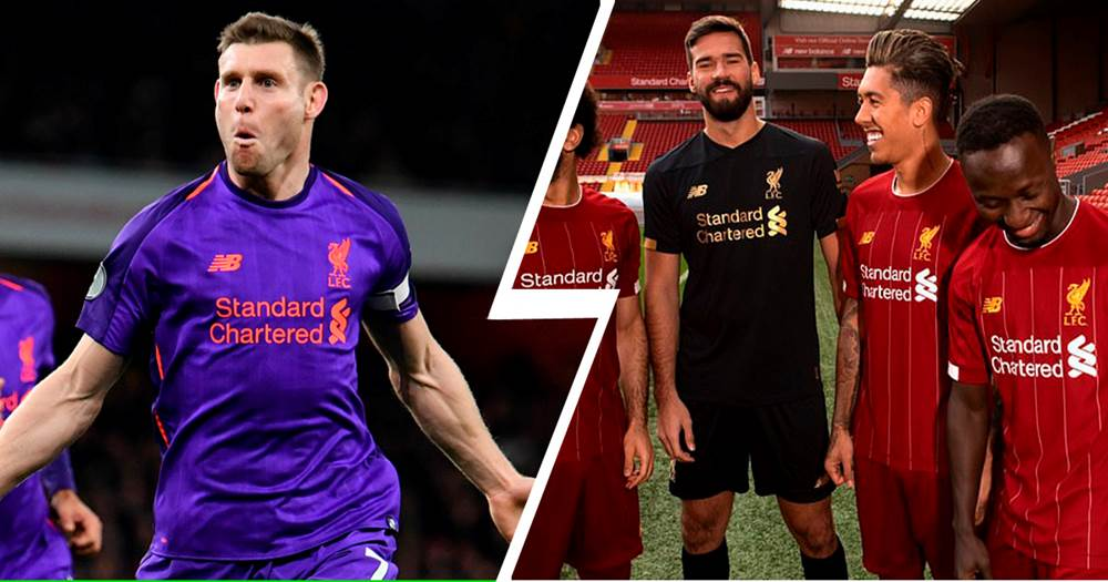 06952114 'Yeah I'm that guy': Milner hilariously reacts to Liverpool new kit video