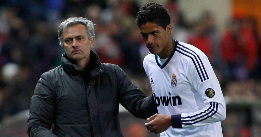 Image result for mourinho varane