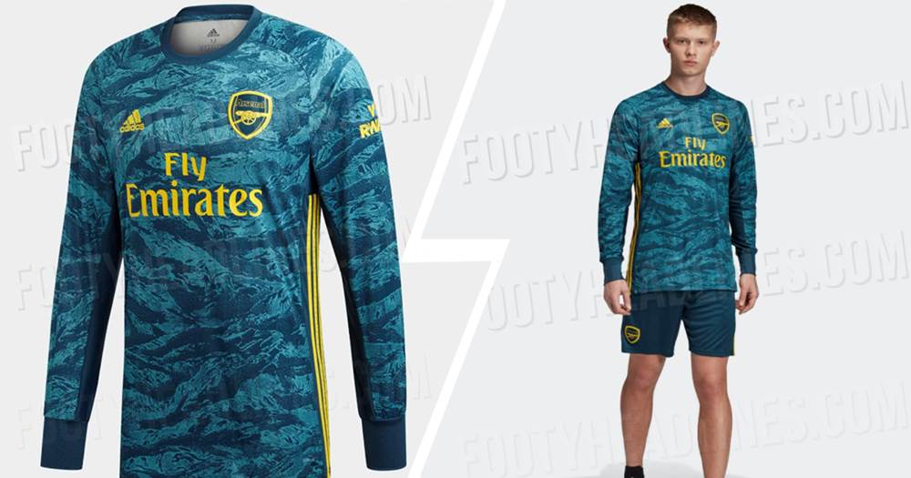 online store af59a c7917 Leaked: Arsenal goalkeeper home jersey for 2019/20 - Tribuna.com