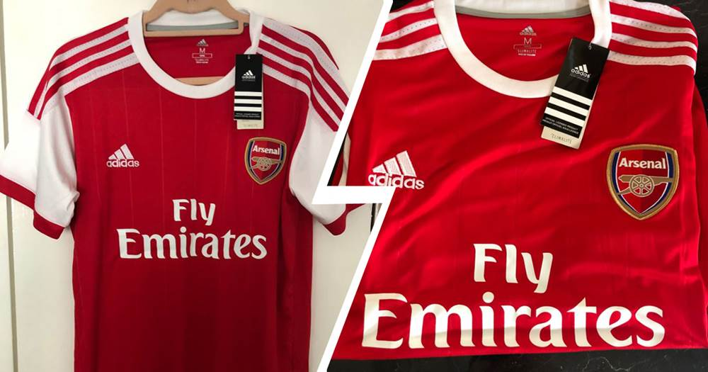 c9a9e7be225 LEAKED  New Adidas Arsenal kit. They will be our main sponsor ...
