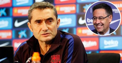 Bartomeu explains why Valverde always looks so serious
