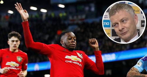 Solskjaer gives Wan-Bissaka extra praise for 10/10 performance at Man City